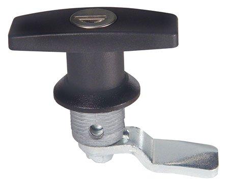 T-Handle 1 Each 3//4 Grip Range Emka Locking Black Polyamide Heavy Duty NEMA 4 Rated 1//4 Turn Latches