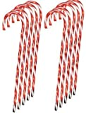 """Lighted Candy Cane Pathway Markers (28"""") -Set of 12 (4-3 packs)"""
