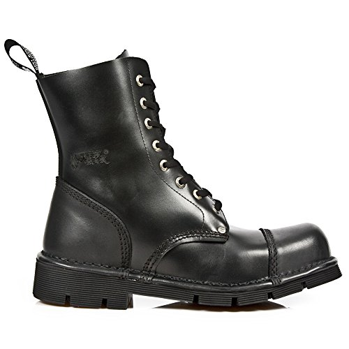 New Rock Shoes - Classic Newmili Lace Up Leather Boots UK 3 by New Rock Shoes