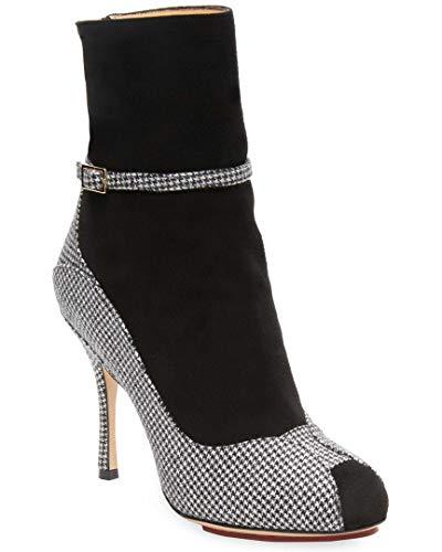 charlotte olympia Incognito Checkered Boots, 37