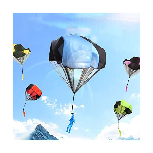 Monyus Parachute Toy 10 PCS Children's Flying Toys Tangle Free Throwing  Hand Throw Parachute Army Man Toss It Up and… – BLINKEE.COM