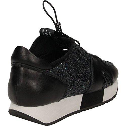 Liu Sandal Mar Sneaker Talla Black 36 Jo Nero Glitter rUO7r