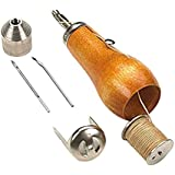 Professional DIY Speedy Stitcher Sewing Awl Tool Kit for Leather Sail Canvas Heavy Repair