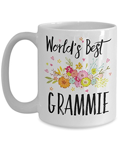 Grammie Mug - World's Best Grammie - Best Grammie Ever - A Thank You Or Appreciation Gift - Coffee Cup In 11oz Or 15oz Sizes