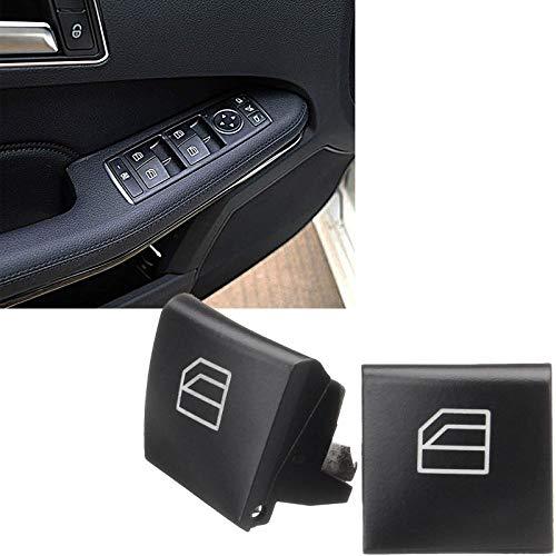 Xotic Tech 2 x Car Window Switch Button Cover Cap for Mercedes Benz W164 ML W251 GL X164 R Class