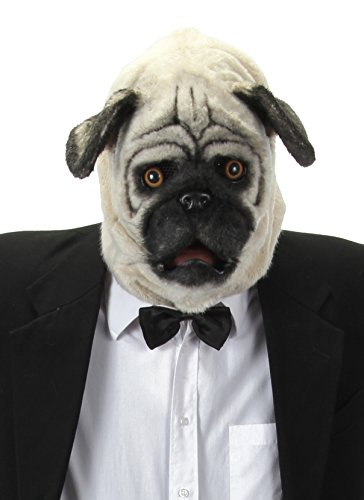 Pug Head - elope Mouth Mover Pug Mask