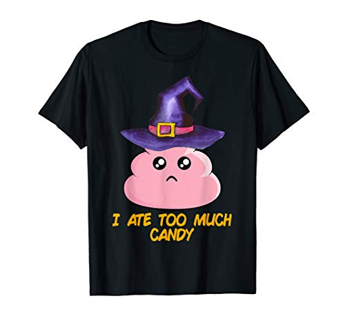 Ate Too Much Halloween Candy (Funny Halloween Costume - I Ate Too Much Candy)