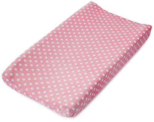 Pink Changing Table - Summer Infant Ultra Plush Changing Pad Cover, Pink Dots for Days
