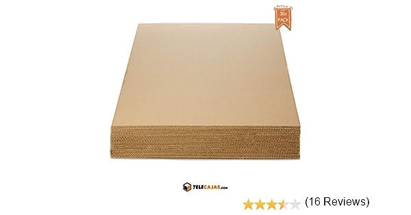 TeleCajas®   Planchas de Cartón Din A1 Ondulado   Medidas: 84,1 x ...