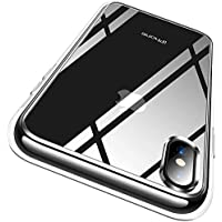 Ranvoo iPhone X Max Certified Military Protection Protective Clear Case with Reinforced Soft TPU Bumper for Free