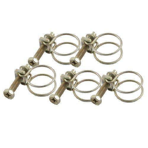a12031600ux0103 r/églables huile eau fil dacier colliers de serrage Tube 13-19mm 5 pi/èces