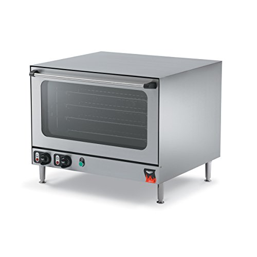 Vollrath (40701) 23-7/16″ Half-Size Electric Countertop Convection Oven – Cayenne Seri