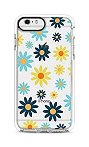Stylizedd iPhone 6s Plus/ 6 Plus Cover Impact Pro White Military Grade Shockproof Case - Pick A Daisy