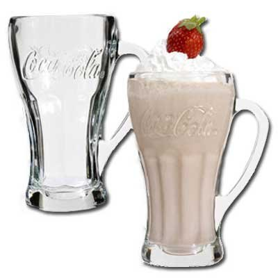 Coca-Cola Bell Mugs, 14.5 oz. (1 Ea.)