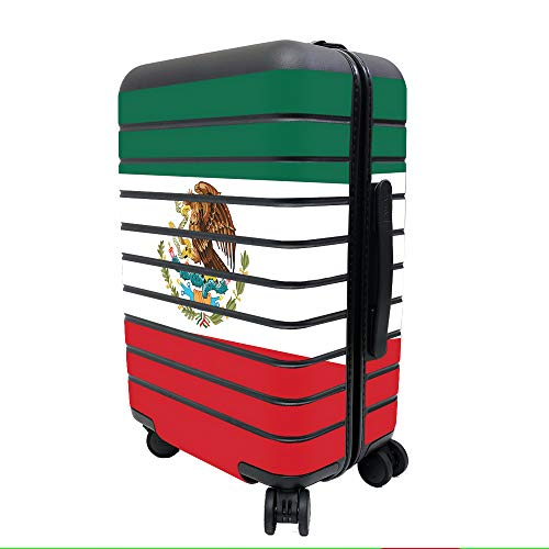 MightySkins Skin for Away The Carry-On Suitcase - Mexican Flag  ed81ca1642e5b