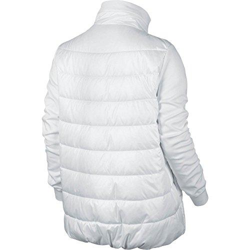 Nike W NSW SYN FLL AV15 JKT - Jacke Weiß - M - Damen