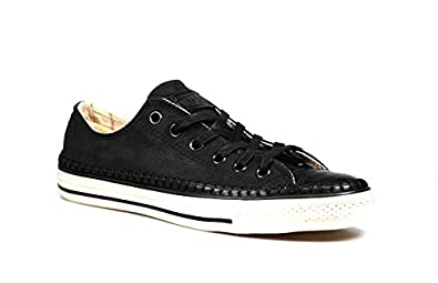 Converse by John Varvatos Unisex Chuck Taylor All Star - Artisan Stitch  Black/Turtledove/