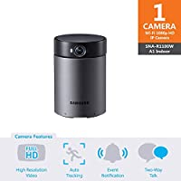 SNA-R1100W - Samsung Wisenet Smartcam A1 Indoor Home Security Camera