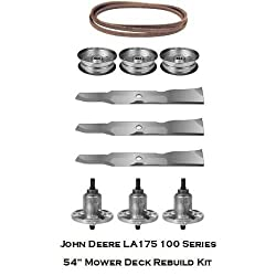 "54"" Mower Deck Rebuild Kit Fits John Deere LA"