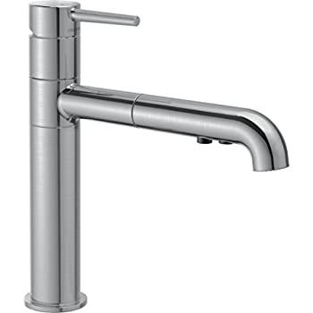 Delta Faucet 4159 Bl Dst Signature Single Handle Pull Out