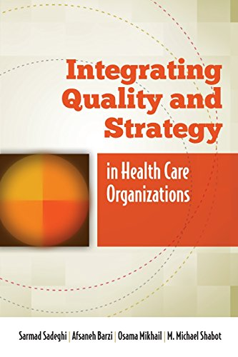 Integrating Quality and Strategy in Health Care Organizations Sarmad Sadeghi