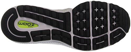 Uomo Bianco black pure Air Nike Corsa 12 Zoom Platinum Scarpe Vomero Da white w60wxv8PqO