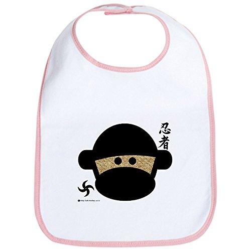 CafePress - Sock Monkey Ninja Bib - Cute
