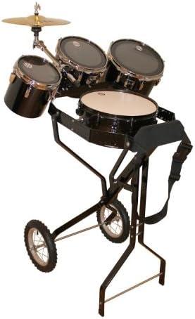 Impacto juguete carro con caja, 3 Toms, 1 Hi-Hat: Amazon.es: Instrumentos musicales