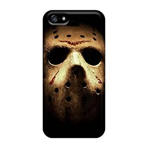 Iphone 5/5s SDq2265Cmgz Customized HD Friday The 13th Skin Scratch Protection Hard Phone Cases -AnnaDubois