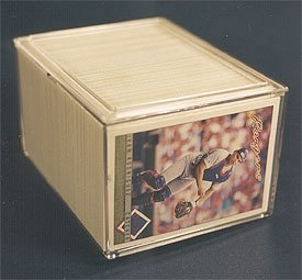 250 Ct Box (Pro-Mold 250 Count Plastic Storage Box - 2 Piece Snap Design (PC250) - Baseball & Other Sports Cards Collecting Supplies)