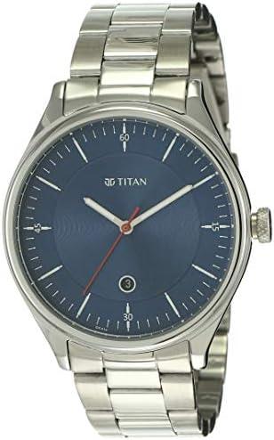 Titan Autumn-Winter 20 Analog Blue Dial Men's Watch 1834SM02/NN1834SM02