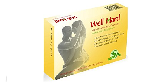 6 X ULTRA STRONG Male Herbal Libido Sexual Performance Enhancement 500mg Capsules