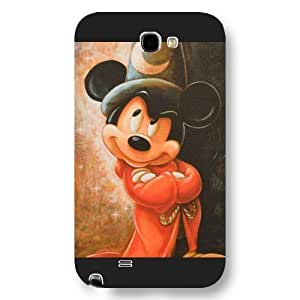 Customized Black Hard Plastic Disney Cartoon Mickey Mouse Samsung Galasy S3 I9300