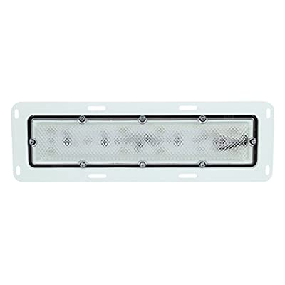 Truck-Lite 80251C Super 80 Series Clear 10 Diode LED Interior Dome Lamp: Automotive