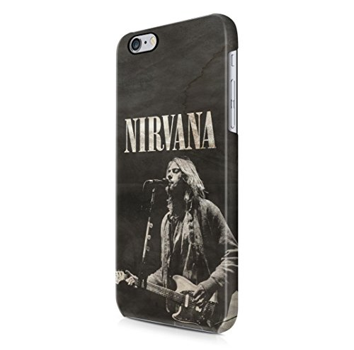 Nirvana Kurt Cobain iPhone 6, 6s Hard Plastic Case Cover