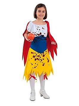 DISBACANAL Disfraz Blancanieves Halloween niña - -, 8 años: Amazon ...
