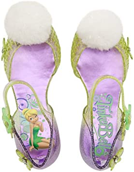 Tinkerbell Kostüm Light up Schuhe für Kinder Größe UK 11 12