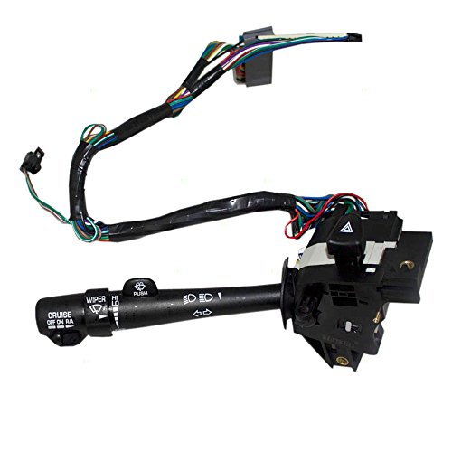 Turn Signal Switch Wiper Cruise Control Dimmer Hazard Warning Lever Replacement for Buick Century Regal 88963625