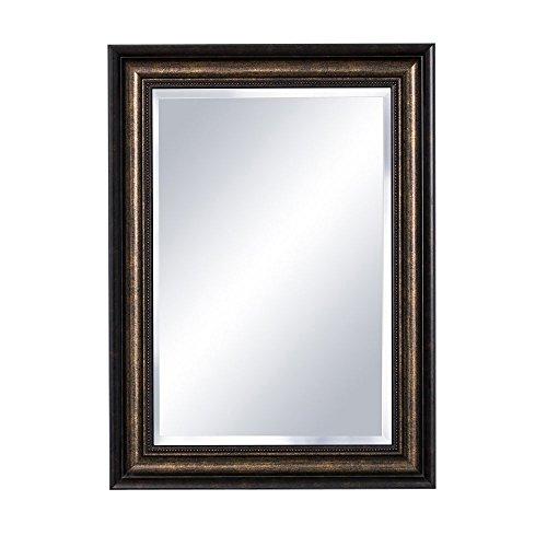 Cabinet Medicine Framed Metal (Bellaterra Home 808990 Bellaterra Mirrored Medicine Cabinet, 30