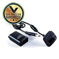 Kit Carga y Juega Color Negro para Control XBOX 360