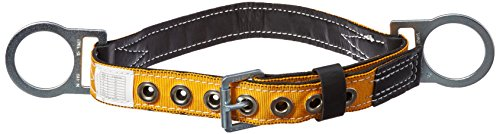 Miller Titan by Honeywell T3020/SAF Tongue Buckle Body Belt with Side D-Rings, Small - Miller Body Belts