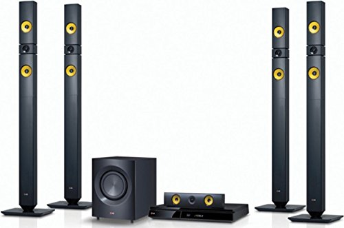 LG DH7530TW Bluetooth Multi Region Free 5.1-Channel Home Theater Wireless Speaker System w/ Free HDMI Cable, 110-240 Volt