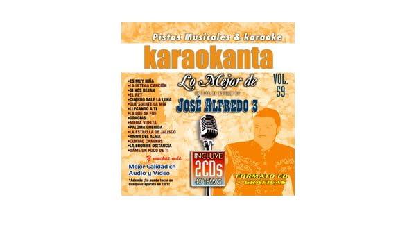 Amazon.com: Karaokanta KAR-7059 - Lo Mejor de Jose Alfredo Jimenez 3 Spanish Karaoke CDG: Musical Instruments