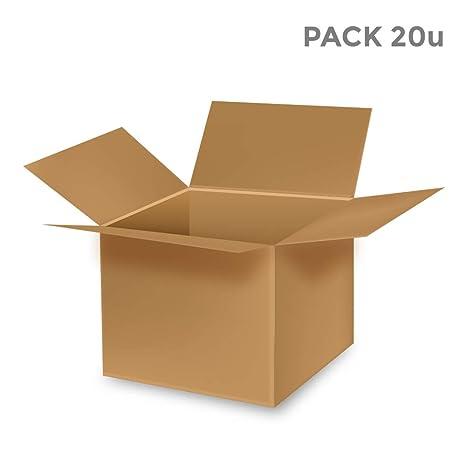 EDM Caja de carton multiusos ideal mudanzas. 30x22,8x28cm