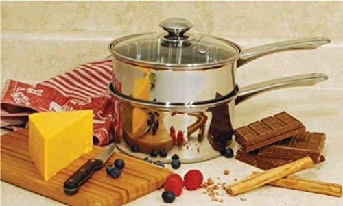 ExcelSteel 579 3 Piece Boiler 2.5 quart Stainless Steel by ExcelSteel (Image #2)