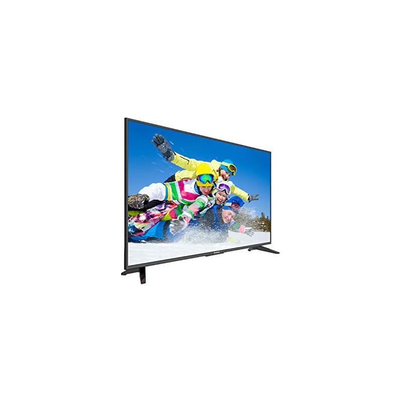 "Komodo by Sceptre 50"" 4K UHD Ultra Slim LED TV 3840x2160 Memc 120, Metal Black 2019 (KU-515), Black"
