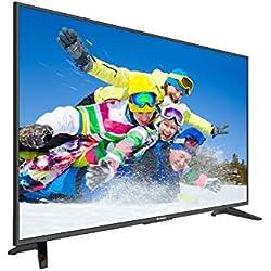"Komodo by Sceptre KU515 50"" 4K UHD Ultra Slim LED TV 3840x2160 Memc 120, Metal Black 2019"