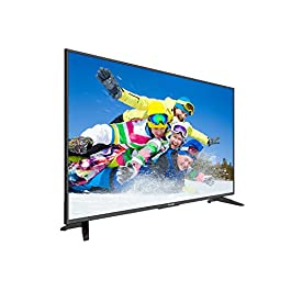 Komodo by Sceptre KU515R 50″ 4K UHD Ultra Slim LED TV 3840×2160 Memc 120, Metal Black 2019