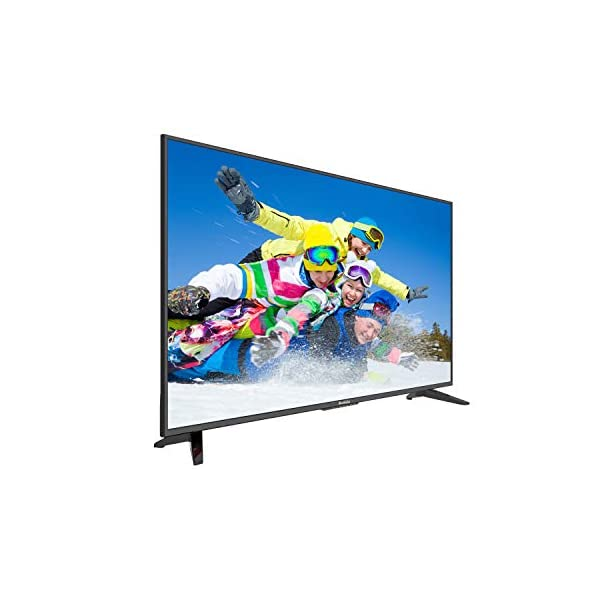 Komodo by Sceptre 50″ 4K UHD Ultra Slim LED TV 3840×2160 Memc 120, Metal Black 2019 (KU-515), Black