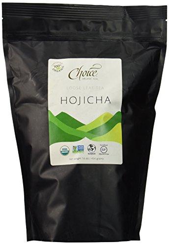 - Choice Organic Teas Green Tea, Loose Leaf (1 Pound Bag), Hojicha